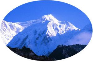 Mount Kanchenjunga - Oval 4